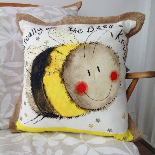 Bees Knees Cushion By Alex Clark