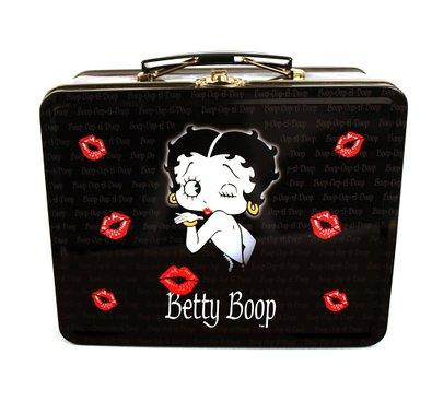 Betty Boop Black Lunch Box