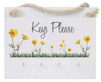 Buttercup Keys Hanger