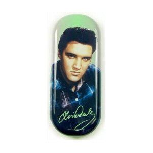 Elvis Presley Blue Shirt Glasses Case