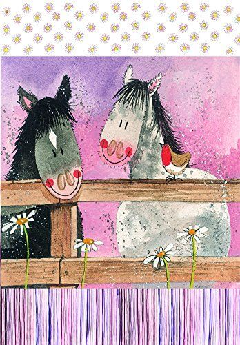 Horse Whispers Cotton Tea Towel