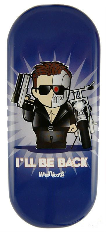 I'll be Back Glasses Case