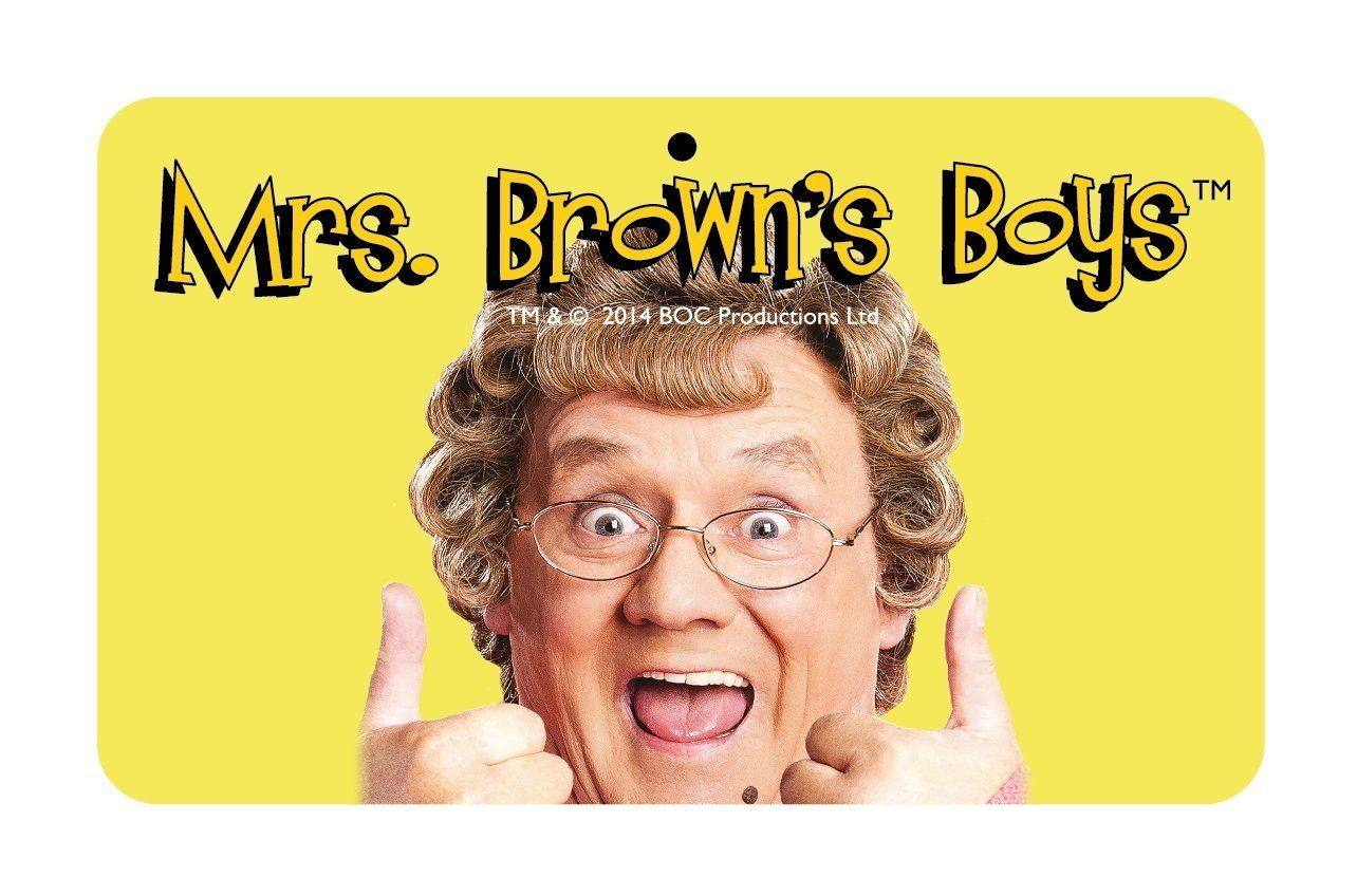 Mrs Browns Boys Thumbs Up Glasses Case