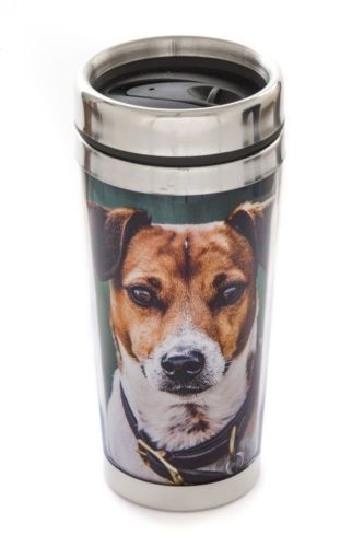 Thermal Mug, Amber the Jack Russell