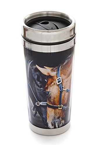 Thermal Mug, Horses, Old Friends