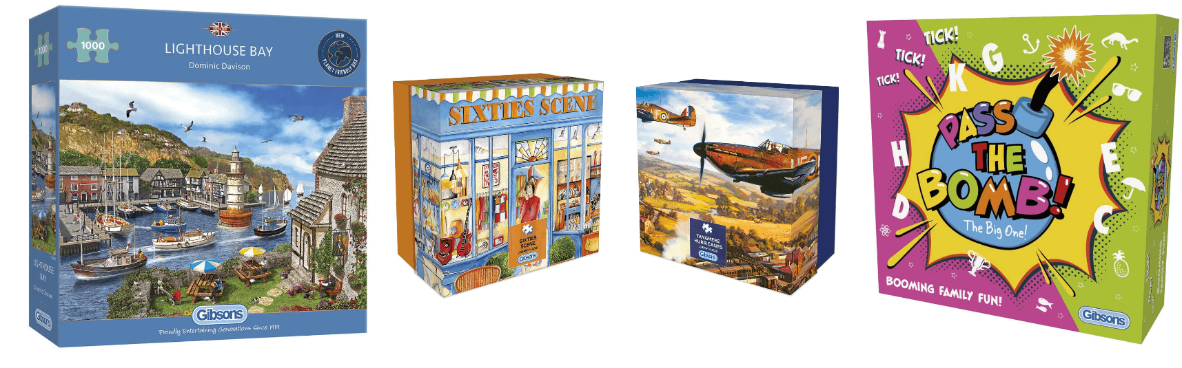 Gibsons Jigsaws and Games
